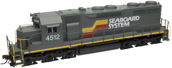 SEABOARD SYSTEM SD35 LOW NOSE LOCO LOCO LOCO BY ATLAS  DCC READY -SPECIAL SALE PRICE NOW 376474
