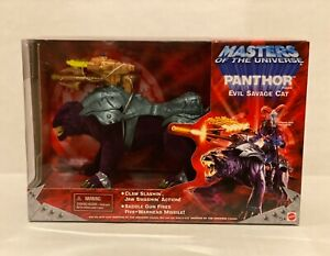MOTU, PANTHOR BOXED, MASTERS OF THE UNIVERSE HE-MAN 2001