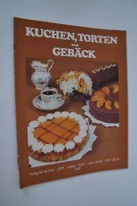 DDR-Kochheft-Rezeptheft-034-Kuchen-Torten-und-Gebaeck-034-Verlag-fuer-die-Frau