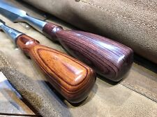 Chisel Handle for Lie-Nielsen, Stanley 750 and other, Rosewood. Large Size