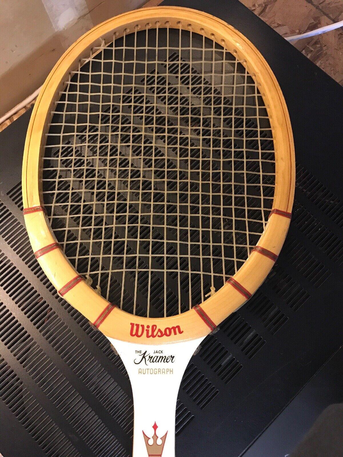 Autógrafo Autógrafo Autógrafo de Wilson Jack Kramer tenis raqueta d1f5c6