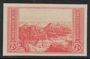 Scott-757-Ngai-Mnh-2c-Magnifico-Canyon-Imperforate-Farley-1935-Nuevo