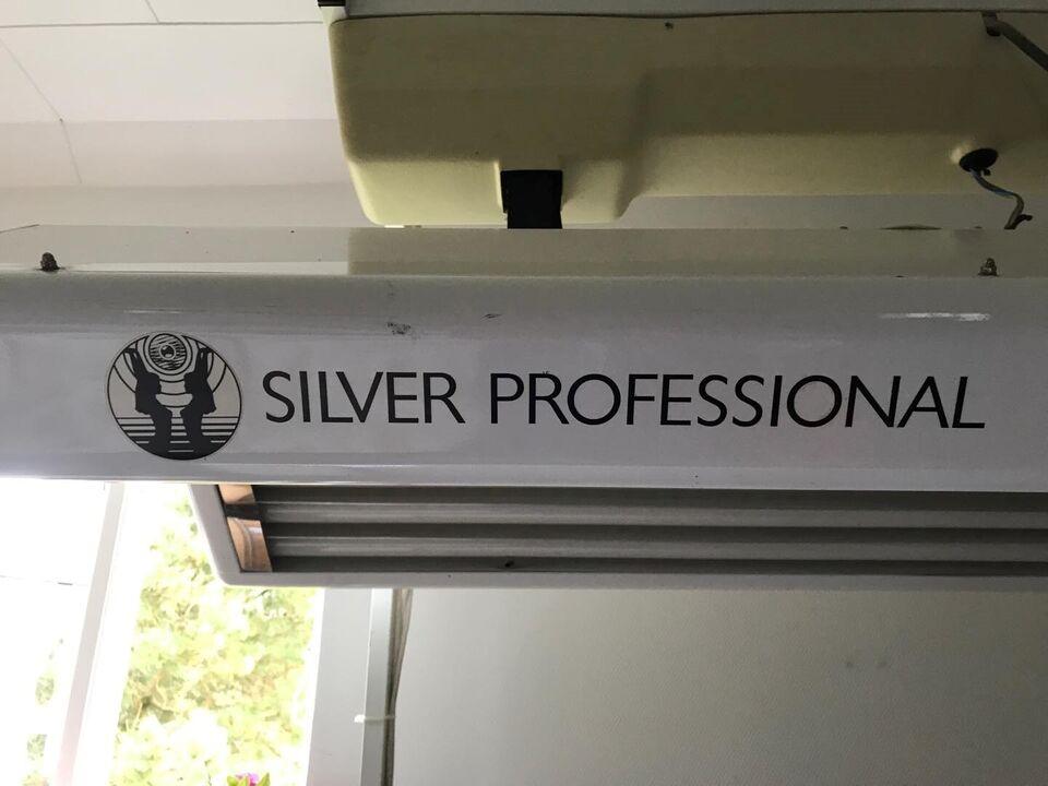 Sandwichsolarium, silver professional, 24 rør