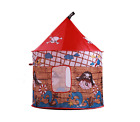 Children Kids Home Play Tent Red Castle Cloth Indoor Playhouse Gift Toy .