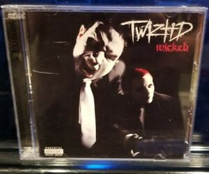 Twiztid - Wicked CD & DVD rare insane clown posse w.i.c.k.e.d. dark lotus blaze