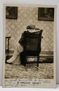 Parlour-Secrets-Couple-Kissing-1908-Tolna-to-Douglas-ND-Bamforth-Postcard-D16