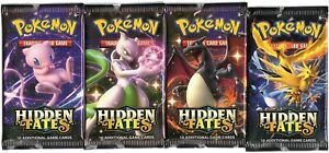 HIDDEN-FATES-SEALED-BOOSTER-PACK-AND-WOTC-RARE-LOT-READ