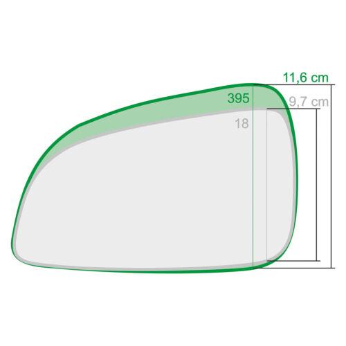 Außenspiegel Spiegelglas Links Asphärish Opel Astra Mk5 H 2009-2010 395LAS