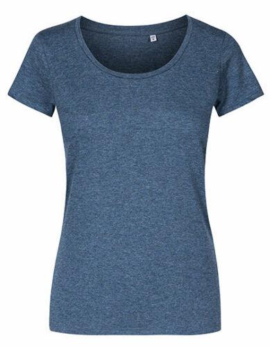 Damen Slim Fit T-Shirt Kurzarm Rundhals Elastisch Uni Shirt Top Basic