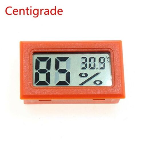 Mini Digital Indoor LCD Thermometer Hygrometer Gauge Humidity Meter Portable New