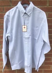 70-RED-HOUSE-MENS-COTTON-LT-BLUE-CLASSIC-OXFORD-DRESS-SHIRT-4XLT-XXXXL-4XL-TALL