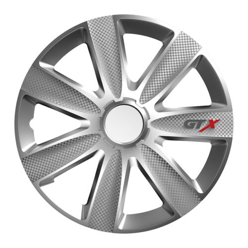 VOLVO Universal Radkappen Radzierblenden GTX silber 15 Zoll für RENAULT