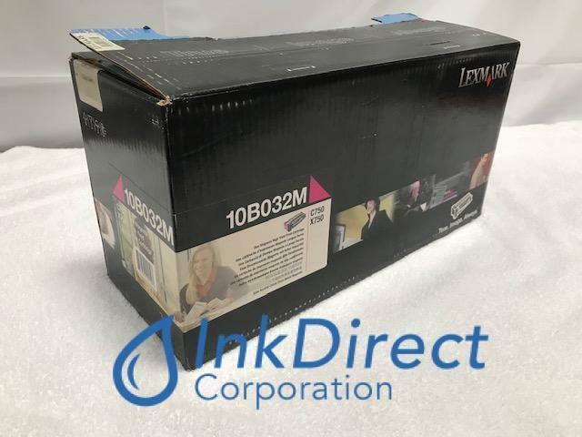 Genuine Lexmark 10B032M  Print Cartridge Magenta C750 X750C