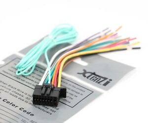 s l300 xtenzi 16 pin radio wire harness for pioneer fh x720bt, fh x520ui radio wire harness at bakdesigns.co