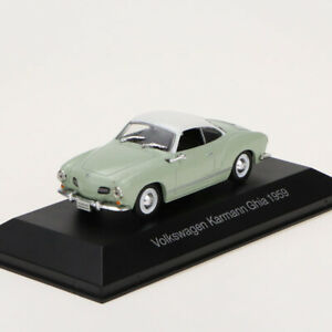 IXO-1-43-Volkswagen-Karmann-Ghia-1959-Diecast-Model-Car-Toy-Collectible