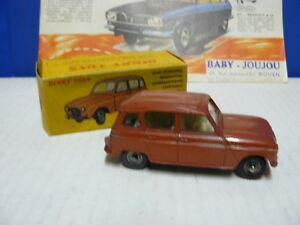 Dinky Toys boîte repro 518 renault 4 L