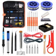 All In 1 Electric Soldering Iron Kit Solder Wire Solder Stand Solder Tip Tweezer