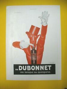 Advertising-Press-Dubonnet-Wine-Quinquina-Illustration-Cappiello-1932