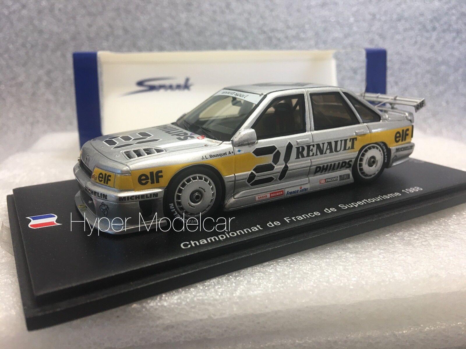 Spark 1 43 Renault 21 Superproduction 4x4  21 Superturisme 1988 Art. SF015