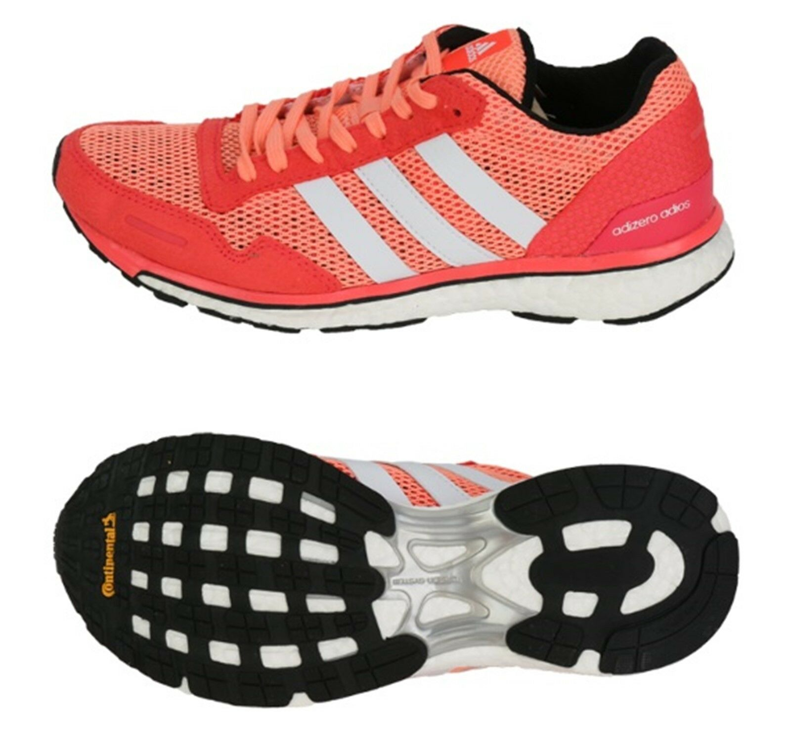 Adidas Women Adizero Adios 3 shoes Running Red (Pink) Sneakers Boot shoes AF6567