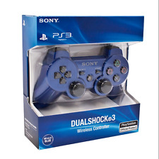 Sony PlayStation 3 Dualshock 3 Sixaxis Wireless Controller Blue Ps3