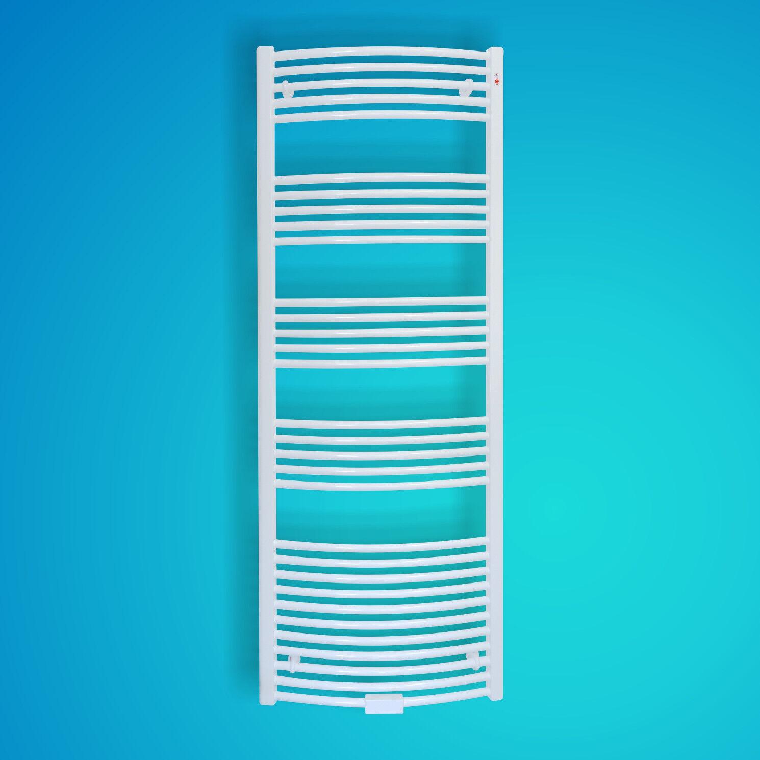 Mert Radiatoren Badheizkörper Heizkörper Standard Weiß gebogen 500 500 500 x 700 mm 95d310