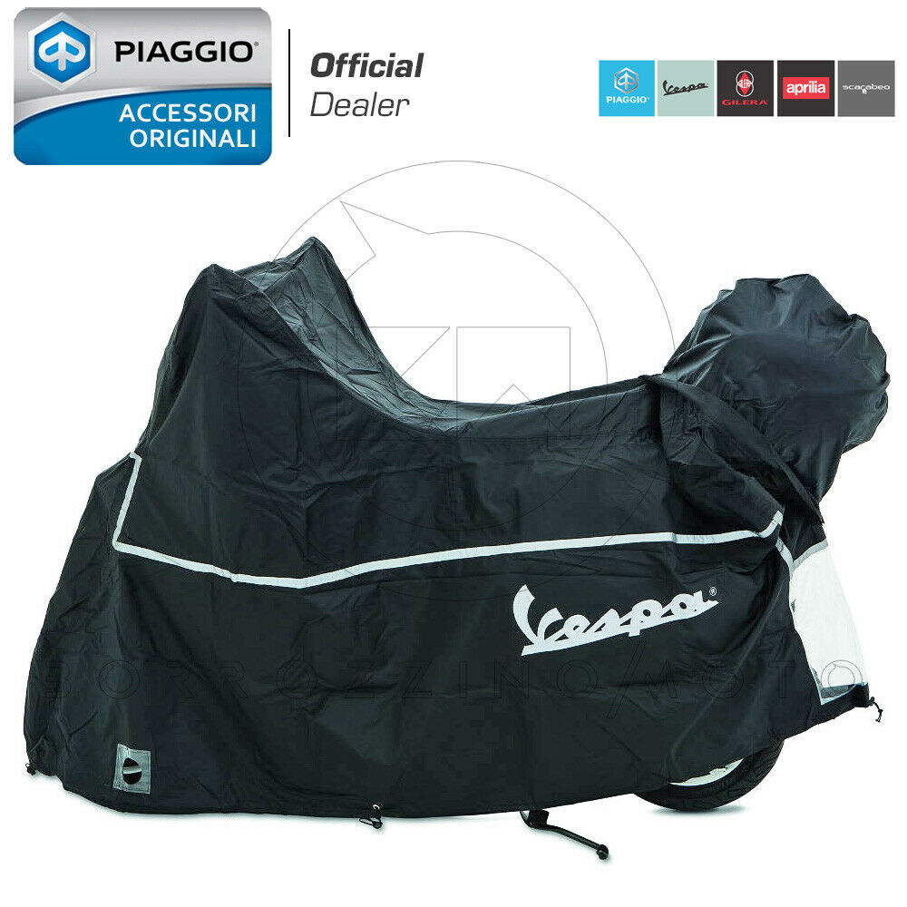 Roller schwarz NEU Piaggio Vespa GTS 125 GTS125 Faltgarage Premium Scooter