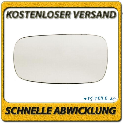 Spiegelglas für RENAULT SCENIC II 07//2003-2009 links Fahrerseite konvex