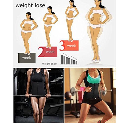Sweat/&Slim Womens Neopreno Tummy Control Body Shaper Waist Trianer Cincher Vests