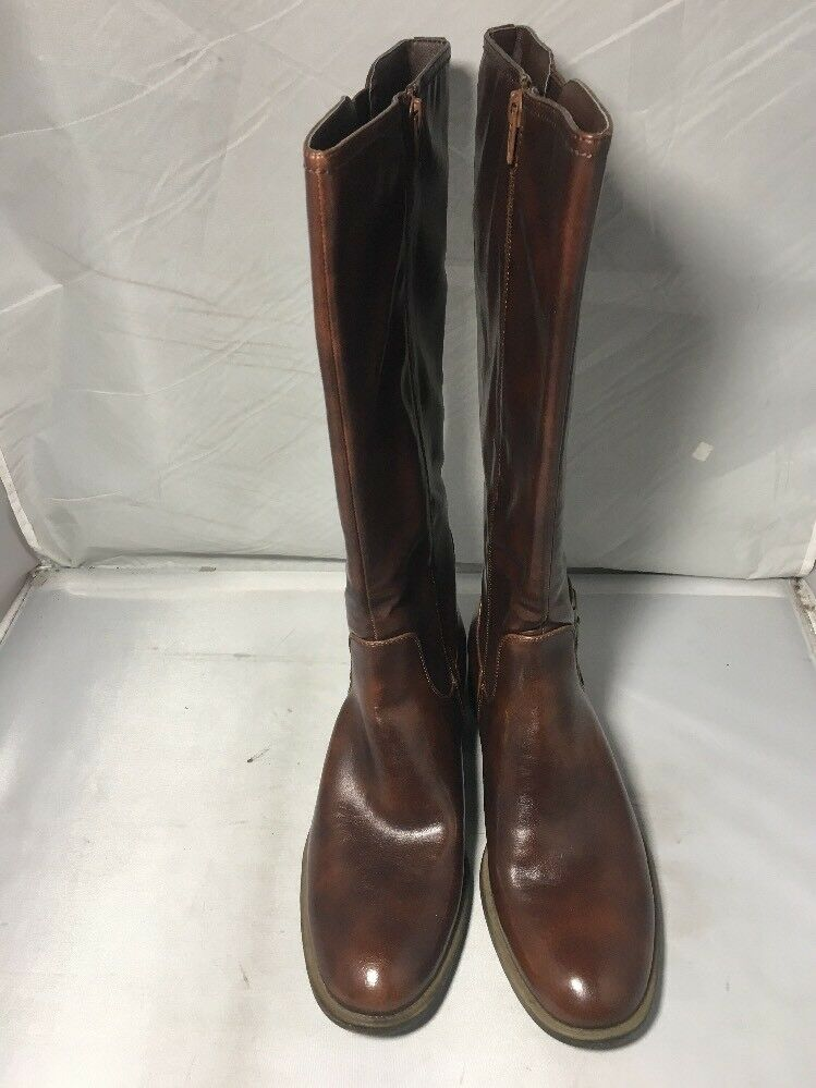 Women's Wear. Ever. Size 10 M Ranie Riding Boots Whiskey W/ Buckle