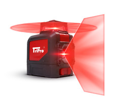 3d 360 Plane Amp Line Auto Level Red Rotary Cross Laser Tripro Receiver Detector