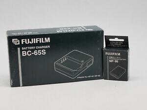 set Fujifilm bc-65s + fujifilm np-95