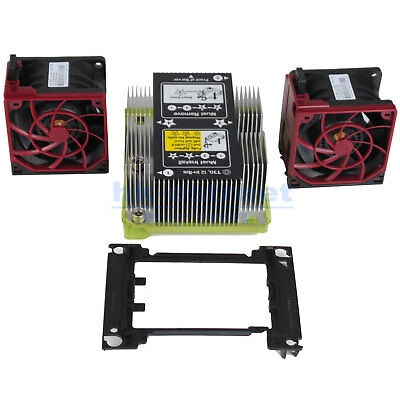 873801-001 Pour DL380G10 Radiateur Kit//873592-001 875070-001 Fan