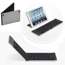 Faltbahre Bluetooth keyboard Tastatur Samsung Galaxy Tab A 10.1 - F66 Silber