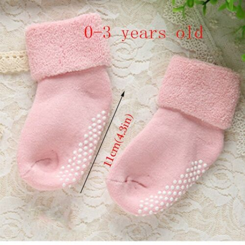 0-3Y Cotton Baby Socks Autumn Winter Thicken Warm Newborn Floor Boy Girl Socks