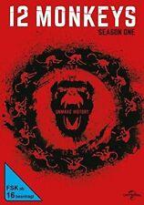 AMANDA SCHULL,BARBARA SUKOWA AARON STANFORD - 12 MONKEYS-STAFFEL 1   DVD NEU
