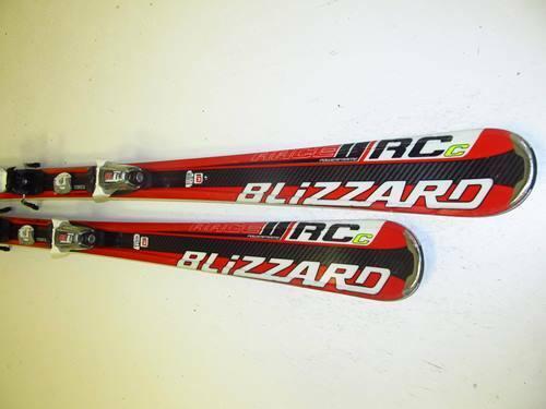 Ski Carvingski Blizzard Race RCc mit Marker Bindung, 153cm (MM1308)