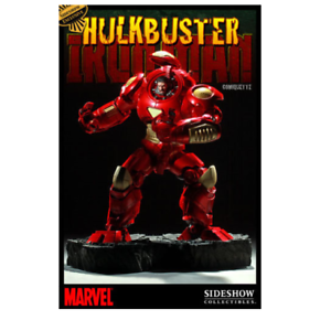 Marvel Hulkbuster Iron Man Exclusive Comiquette Sideshow Used JC
