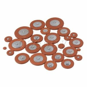 25PCS-Sax-Leather-Pads-For-Tenor-Saxophone-orange