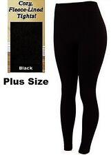 Womens Warm Fleece lined Thick Fur Winter PLUS SIZE Legging TX300X Fits 1X 2X 3X