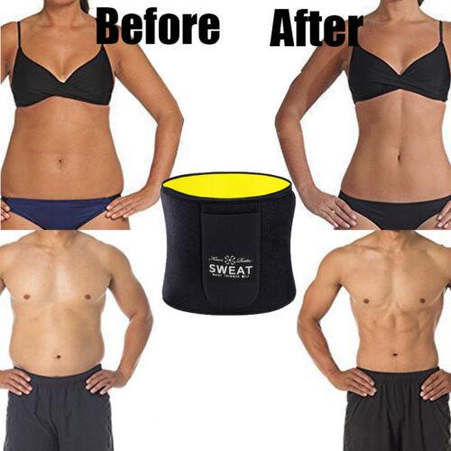 Men Women Waist Trainer Weight Loss Belt Slimmer Body Shaper Tummy Trimmer Band