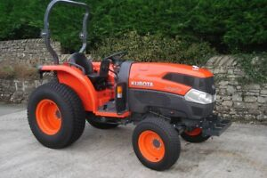 2017-Kubota-L3540-Compact-Tractor-ONLY-38-hours-37HP-under-warranty-VAT
