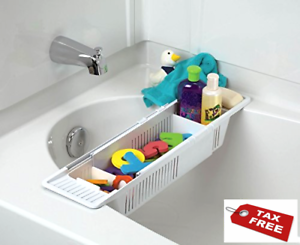 White Free Ship . KidCo Bath Toy Organizer Storage Basket No Tax