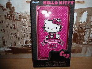 coque pour IPhone 4 et 4S Hello Kitty NEUVE ! - France - État : Neuf: Objet neuf et intact, n'ayant jamais servi, non ouvert, vendu dans son emballage d'origine (lorsqu'il y en a un). L'emballage doit tre le mme que celui de l'objet vendu en magasin, sauf si l'objet a été emballé par le fabricant d - France
