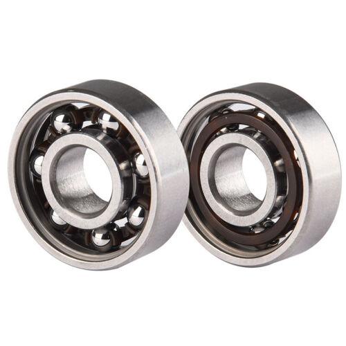 10XStainless Steel Bearings Performance Roller Skate Scooter Skateboard Wheel UK