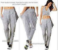 Zumba Aztec Jersey Harem Hip-hop Pants Chic Elitezwear/rare Roomy Pockets S M