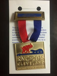 2016-Republican-National-Convention-President-Donald-Trump-DC-Delegation-Badge