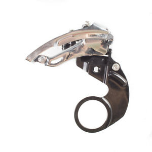 Shimano-Deore-LX-FD-M567-E-Type-Front-Derailleur-3x8-Speed-Bottom-Pull-Silver