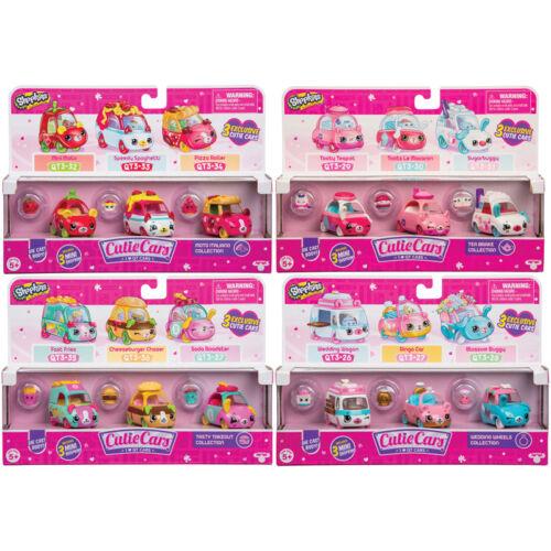 choix de Pack-One fournies-Neuf Série 3 Shopkins Cutie Cars 3 Pack