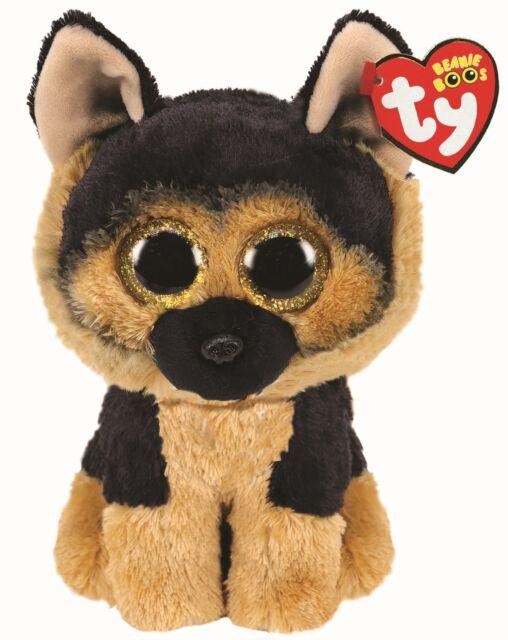 Ty Spirit German Shepherd Beanie Boo Plush Soft Toy 15cm 36309 For Sale Online Ebay